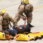 Hazmat hot zone rescues