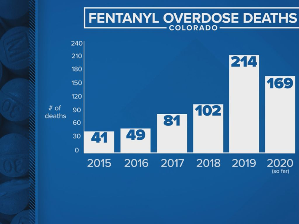 HMN -   Fentanyl overdose deaths spike, Denver Police seize 3x more this year