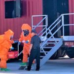 HMN - EFD trains with National Guard on HAZMAT operations