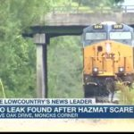 HMN - No leak found from train that prompted Moncks Corner hazmat scare