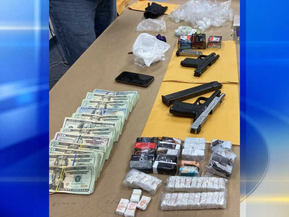 HMN - Major bust uncovers over 1,000 fentanyl stamp bags, evidence of possible dog fighting ring in Penn Hills