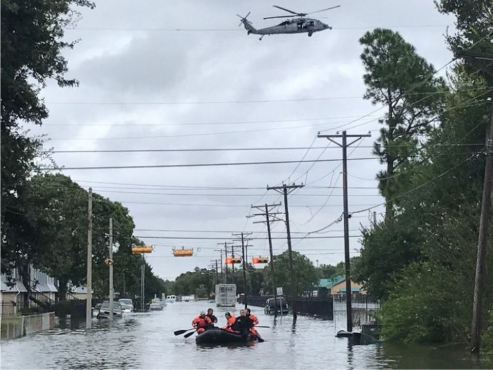 HMN - What Happens When a Hurricane Smashes Into Fossil Fuels?