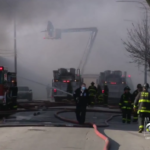 Firefighters Respond To Extra-Alarm Fire, Hazmat In Lawndale