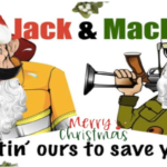 Merry Christmas from Jack and Mack