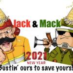 Jack and Mack Happy New Year 2021